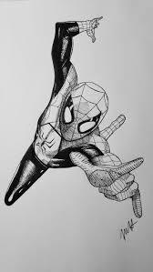 25 spiderman drawing ideas