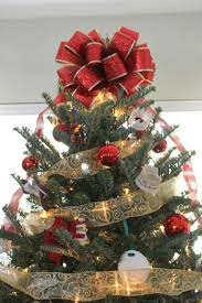 quick diy christmas tree bow home sweet ruby