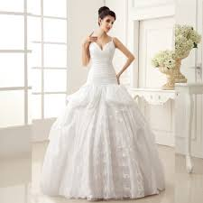 online get cheap white ball gown off shoulder wedding dresses