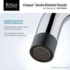kraus commercial pre rinse chrome kitchen faucet kraus kpf 2730 2700 42ch crespo polished chrome pro pre rinse