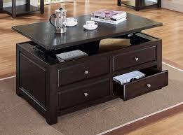 ines lift top coffee table espresso leon u0027s