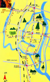 Guilin China Map by Guilin Travel Map Guilin Maps Guilin Attraction Maps
