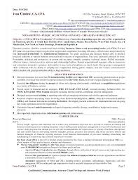 sample resume cpa resume sample controller page 2 assistant