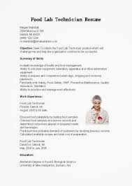 Resume Samples Network Technician by Sample Resume For Lab Technician