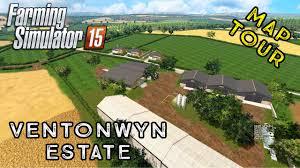 estate map farming simulator 2015 ventonwyn estate look map tour