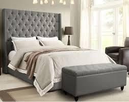 elegant style california king tufted bed diy california king