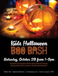 kids halloween boo bash the pinery country club