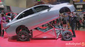 Camry Engine Specs 850 Hp 2015 Toyota Camry Trd Sleeper Dragster At Sema2014 Youtube