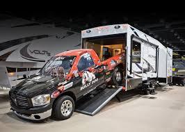 voltage toy hauler floor plans big boy toy haulers www trailerlife com