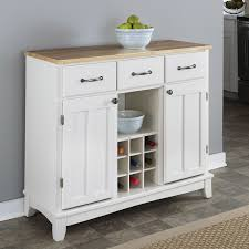 furniture white sideboard buffet with two drawers on beige berber