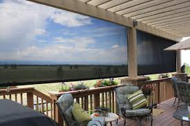 Backyard Shade Solutions by Exterior Roller Shades
