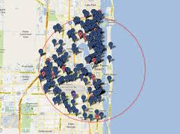 child predator map florida offender search map before