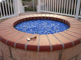 Fire Pit Glass by Turn Your Old Lava Rock Into A Modern Glass Fire Pit Our Fire