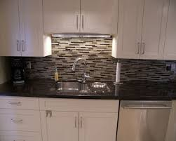Linear Tile Backsplash Houzz - Linear tile backsplash