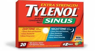 Headache Every Night Before Bed Tylenol Sinus Tylenol