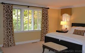 dazzling designs with bedroom draperies u2013 french door window