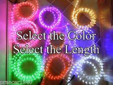 Christmas Rope Lights Ebay by Colored Rope Lights Ebay
