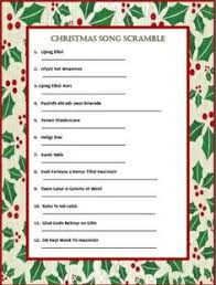 christmas song worksheet u2013 festival collections