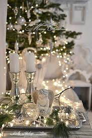 astounding white and silver tree ideas white and silver