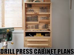 drill press cabinet plans