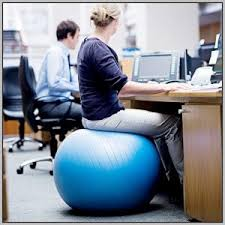 Balance Ball Chair With Arms Office Chair For Exercise Ball Chairs Home Decorating Ideas