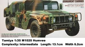 armored humvee interior tamiya 1 35 humvee m1025 kit review youtube