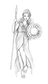 athena goddess of war and wisdom crystal vaults