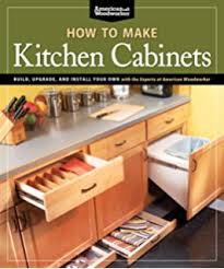 building kitchen cabinets made simple a book and companion step