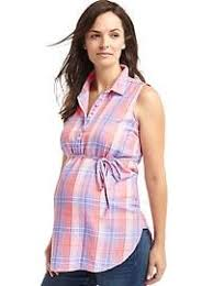 Maternity Plaid Shirt Maternity Clothes Sale At Gapmaternity Gap