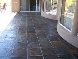 Patio Stone Flooring Ideas by Cleaning Stone Tile Floors With Slate Desert Grout Care And