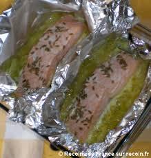 poireaux cuisiner recette papillotes de saumon sur lit de poireaux sur recoin fr
