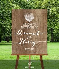wedding signs diy rustic wedding welcome sign diy welcome to our wedding