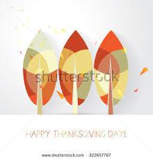 happy thanksgiving day vector illustration modern stock vector