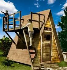 Backyard Playhouse Plans by Free 8x8 A Frame Playhouse Plans Clark Pinterest Playhouse