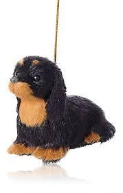 kurt s adler plush dachshund ornament barneys new york