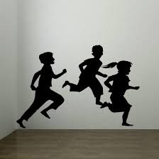 online get cheap wall mural transfers aliexpress com alibaba group d328 large children playing childrens bedroom wall mural sticker art transfer vinyl china mainland