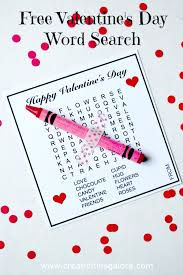 easy thanksgiving word search free valentine u0027s day word search creativities galore