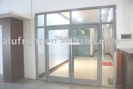 commercial exterior glass doors orange mirror and glass doors photo gallery door commercial 1