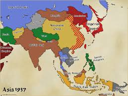 Ww1 Map Althist Asia Map 1937 By Daemonofdecay On Deviantart
