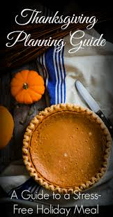 thanksgiving planning guide thanksgiving