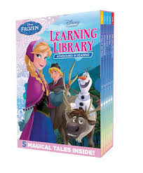 booktopia frozen learning library adventures reading 5