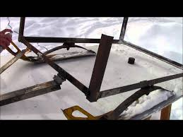 Steel Sled Deck Plans by Snowmobile Sleigh Youtube