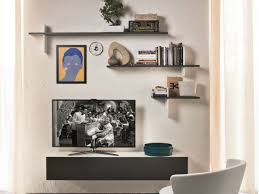 Modern Wall Mounted Shelves Modern Wall Mounted Tv Shelves With Plywood Wall Cabinet Upper