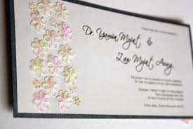 Invitation Cards Handmade - malaysia wedding invitations greeting cards and bespoke cards