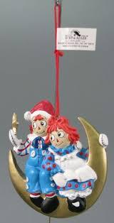 vintage raggedy andy ornaments raggedy