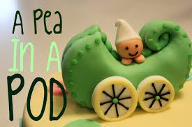 just a pea in a pod cake