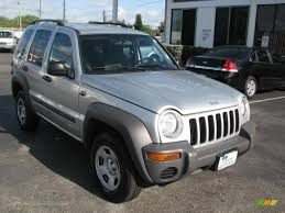 silver jeep liberty 2004 jeep liberty sport 4x4 in bright silver metallic 126822