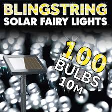 Solar Powered Fairy Lights Review by Solar Fairy Lights White 100 Leds
