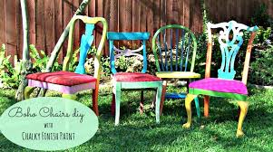 give a boho look to thrift store chairs youtube