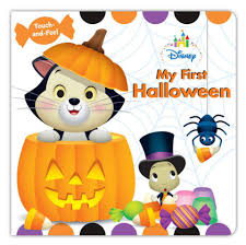 disney baby my first halloween touch and feel board book toys